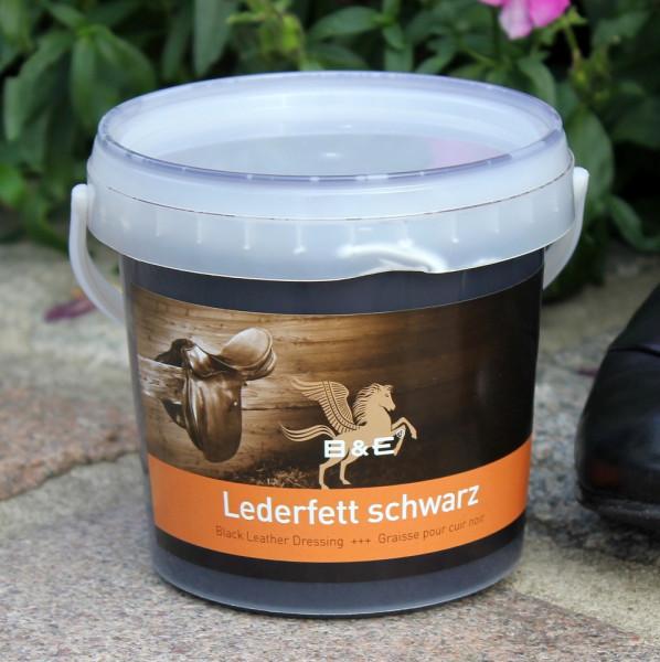 Lederfett Schwarz 500 ml