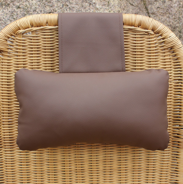 Karawunzlator - THE artificial leather neck pillow 35 x 20 cm