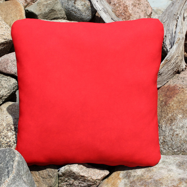 Synthetic leather cushions with filling