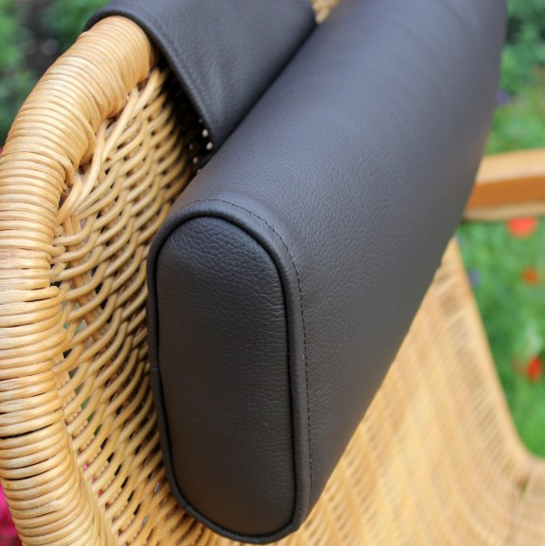 Leather Flex Neck Pillow with Weight - Long Neck