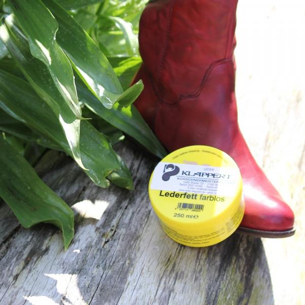 Lederfett Farblos 250 ml